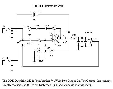 000004 jpg, schematics for the dod overdrive 250