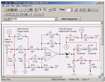 Schematic Publisher Beta 1.0 RJWSoft Schematic Publisher is a ... on digital electronics, logic synthesis, electronic design automation, schematic editor,
