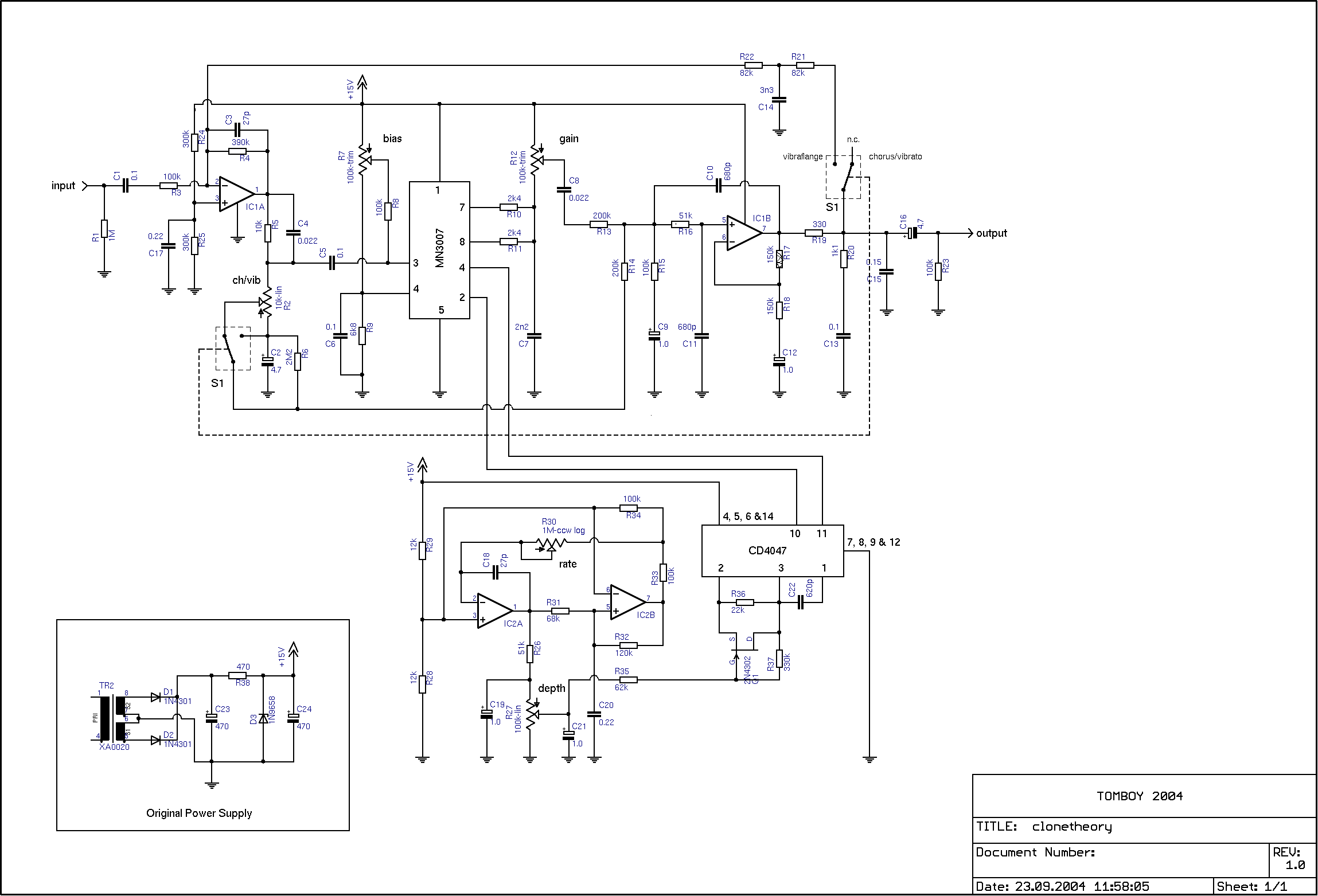 Use Cd4013 Cd4047 In Place Of Mn3101 Clock Pulse Generator With Cd4049 Circuit Diagram This Help